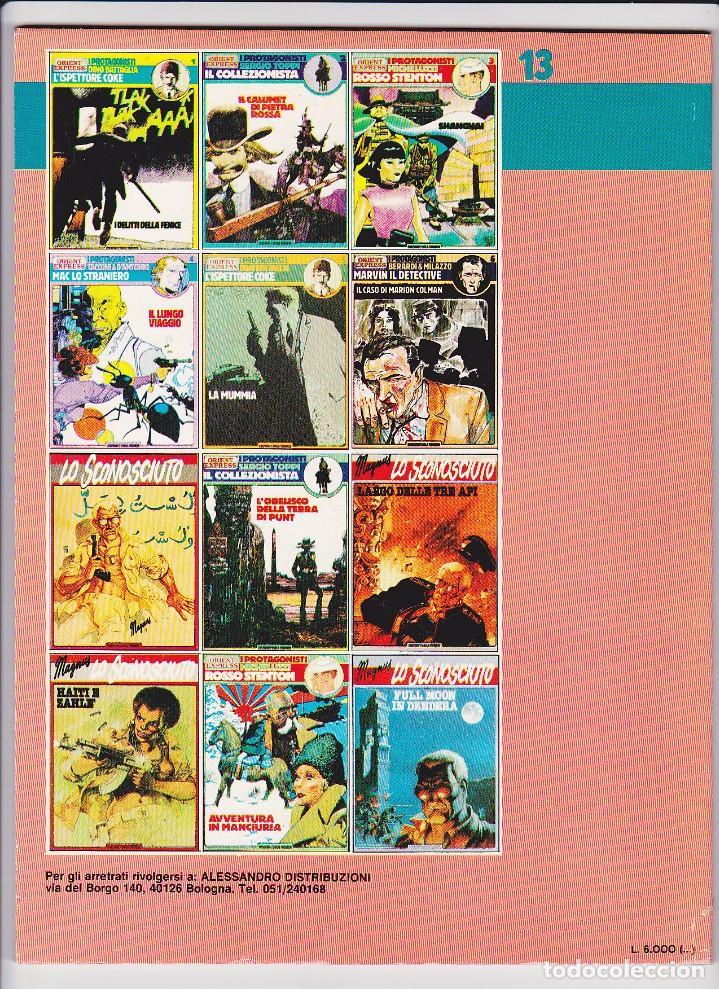 Cómics: Mac lo Straniero - Verdi Campi di Fiandra (Protagonisti di Orient Express 13) - Tacconi - Foto 5 - 289603978