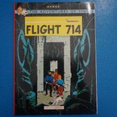 Cómics: COMIC DE LAS AVENTURAS DE TINTIN FLIGHT 714 EN INGLES Nº 19 AÑO 198? ED. DEL PRADO L 29 B. Lote 289821183
