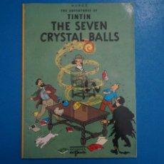 Cómics: COMIC DE LAS AVENTURAS DE TINTIN THE SEVEN CRYSTAL BALLS EN INGLES Nº 19 ED. DEL PRADO L 29 B. Lote 289821398