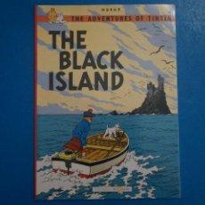 Cómics: COMIC DE LAS AVENTURAS DE TINTIN THE BLACK ISLAND EN INGLES Nº 15 AÑO 198? ED. DEL PRADO L 29 B. Lote 289821613