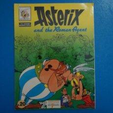Cómics: COMIC DE ASTERIX AND THE ROMAN AGENT EN INGLES Nº 20 AÑO 198? ED. DEL PRADO L 29 B. Lote 289821863