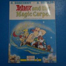 Cómics: COMIC DE ASTERIX AND THE MAGIC CARPET EN INGLES Nº 8 AÑO 198? ED. DEL PRADO L 29 B. Lote 289822053
