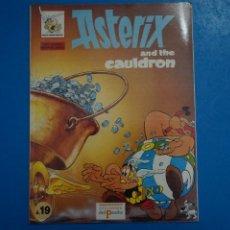 Cómics: COMIC DE ASTERIX AND THE CAULDRON EN INGLES Nº 19 AÑO 198? ED. DEL PRADO L 29 B. Lote 289822658