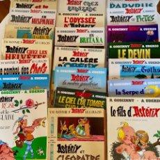 Cómics: ASTERIX-LOTE DE 21-UDERZO/GOSCINNY-DARGAUD-ORIGINAL EN FRANCES-1965 Y POSTERIOR-VER TITULOS. Lote 290947743