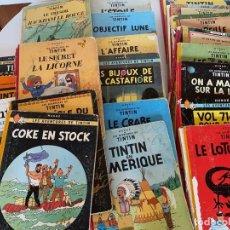 Cómics: LAS AVENTURAS DE TINTIN-LOTE DE 23-HERGE-CASTERMAN-ORIGINAL EN FRANCES-1947 A 1973-VER TITULOS. Lote 290947918