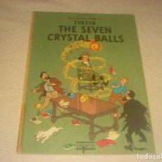 Cómics: TINTIN , THE SEVEN CRYSTAL BALLS . EDICIONES EL PRADO. EN INGLES. TAPA BLANDA.. Lote 291427603