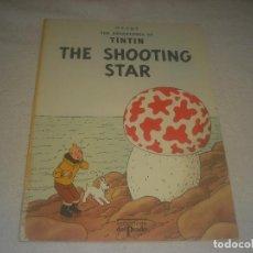 Cómics: TINTIN ,THE SHOOTING STAR. . EDICIONES EL PRADO. EN INGLES. TAPA BLANDA.. Lote 291429618