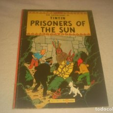 Cómics: TINTIN ,PRISONERS OF THE SUN. . EDICIONES EL PRADO. EN INGLES. TAPA BLANDA.. Lote 291430233