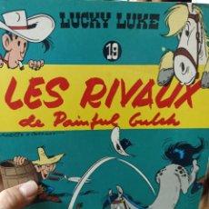 Cómics: LUCKY LUKE. N.19. LES RIVAUX DE PAINFUL GULCH. Lote 291871818