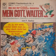 Cómics: MEINN GOTT, WALTER -PEPE GOTERA Y OTILIO- EN ALEMÁN, AÑOS 80. Lote 292402433
