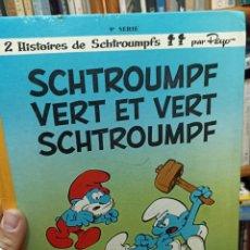 Cómics: SCHTROUMPF VERT ET VERT SCHTROUMPF. LOS PITUFOS. Lote 292514003