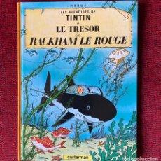 Cómics: TINTIN. LE TRESOR DE RACKHAM LE ROUGE. CASTERMAN.. Lote 292584733