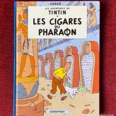 Cómics: TINTIN. LES CIGARES DU PHARAON. CASTERMAN.. Lote 292588488