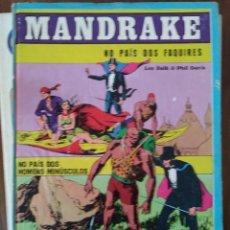 Cómics: MANDRAKE. NO PAÍS DOS FAQUIRES (EN PORTUGUÉS). Lote 293698583