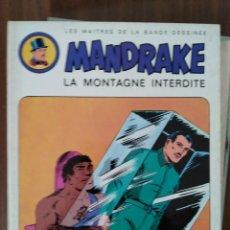 Cómics: MANDRAKE. LA MONTAGNE INTERDITE (EN FRANCÉS). Lote 293698623