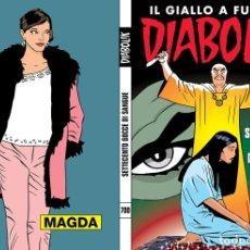 Cómics: DIABOLIK RISTAMPA - N.700 - SETTECENTO GOCCE DI SANGUE - ASTORINA SRL. Lote 295503258