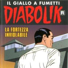 Cómics: DIABOLIK RISTAMPA - N.684- LA FORTEZZA INVIOLABILE - ASTORINA SRL. Lote 295503273