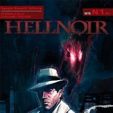 Cómics: HELLNOIR N.1 - UNA CITTÀ PER CUI MORIRE - BONELLI ED.. Lote 295503313