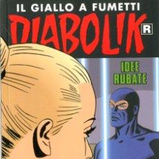Cómics: DIABOLIK RISTAMPA - N.685- IDEE RUBATE - ASTORINA SRL. Lote 295503323