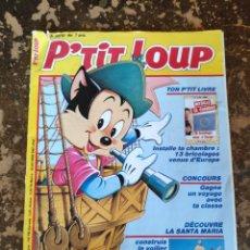 Cómics: P'TIT LOUP N° 34 (DISNEY HACHETTE PRESSE) {BARCO PARA MONTAR E INSTRUCCIONES}. Lote 295777303