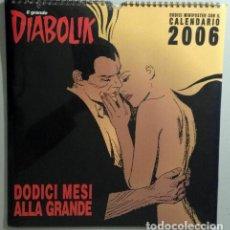 Cómics: DIABOLIK GADGET CALENDARIO 2006 - ASTORINA SRL - ASTORINA SRL. Lote 295901203