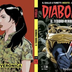 Cómics: DIABOLIK - ANNO LVIII - N.1 - IL TESORO PERDUTO - ASTORINA SRL. Lote 295901223