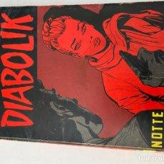 Cómics: DIABOLIK - ANNO XII - N.10 - NOTTE D'ANGOSCIA - ASTORINA SRL. Lote 295901238