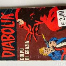 Cómics: DIABOLIK - ANNO XVIII - N.22 - COLPO DI GRAZIA - ASTORINA SRL. Lote 295901253