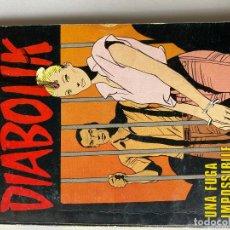 Cómics: DIABOLIK - ANNO XVIII - N.24 - UNA FUGA IMPOSSIBILE - ASTORINA SRL. Lote 295901263