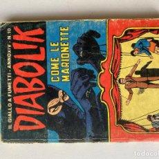 Cómics: DIABOLIK - ANNO XIV - N.10 - COME LE MARIONETTE - ASTORINA SRL. Lote 295901278