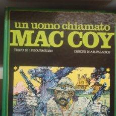 Cómics: MAC COY - UN UOMO CHIAMATO - VALLECCHI - 1978 - TEXTO ITALIANO. Lote 296067808