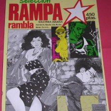 Cómics: Nº 8 SELECCION RAMPA - RAMBLA . 3 NUMEROS EN 1. AÑO 1984. NUEVISIMO!!!. Lote 5849130