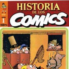 Cómics: HISTORIA DE LOS COMICS LOS MEJORES PERSONAJES, LOS MEJORES DIBUJANTES, Nº1. Lote 4815731