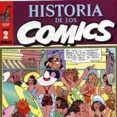 Cómics: HISTORIA DE LOS COMICS MEJORES PERSONAJES,MEJORES DIBUJANTES,ETC...Nº2. Lote 4815750
