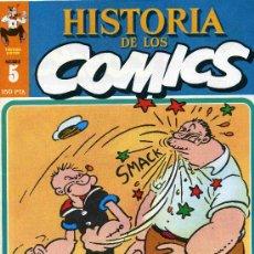 Cómics: HISTORIA DE LOS COMICS MEJORES PERSONAJES,MEJORES DIBUJANTES,ETC...Nº5. Lote 16228160