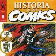 Cómics: HISTORIA DE LOS COMICS MEJORES PERSONAJES,MEJORES DIBUJANTES,ETC...Nº6. Lote 4815773