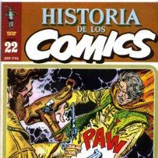 Cómics: HISTORIA DE LOS COMICS MEJORES PERSONAJES,MEJORES DIBUJANTES,ETC...Nº22. Lote 4815889