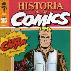 Cómics: HISTORIA DE LOS COMICS MEJORES PERSONAJES,MEJORES DIBUJANTES,ETC...Nº25. Lote 4815914