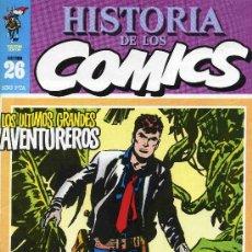 Cómics: HISTORIA DE LOS COMICS MEJORES PERSONAJES,MEJORES DIBUJANTES,ETC...Nº26. Lote 4815926
