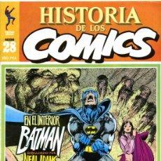 Cómics: HISTORIA DE LOS COMICS MEJORES PERSONAJES,MEJORES DIBUJANTES,ETC...Nº28. Lote 4815949