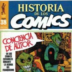 Cómics: HISTORIA DE LOS COMICS MEJORES PERSONAJES,MEJORES DIBUJANTES,ETC...Nº38. Lote 4816001