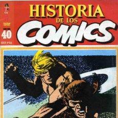 Cómics: HISTORIA DE LOS COMICS MEJORES PERSONAJES,MEJORES DIBUJANTES,ETC...Nº40. Lote 4816010