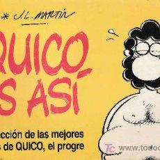 Cómics: QUICO ES ASÍ / J.L. MARTÍN. . Lote 26597494