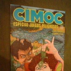 Cómics: CIMOC ESPECIAL JUEGOS PELIGROSOS ...... Nº EXTRA 8. Lote 20311096