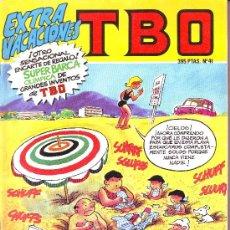Comics : TBO Nº 41 EXTRA VACACIONES. Lote 6940084