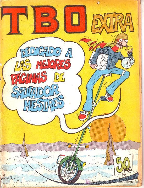 TBO EXTRA DEDICADO A LAS MEJORES PÁGINAS DE SALVADOR MESTRES (Tebeos y Comics - Comics Extras)