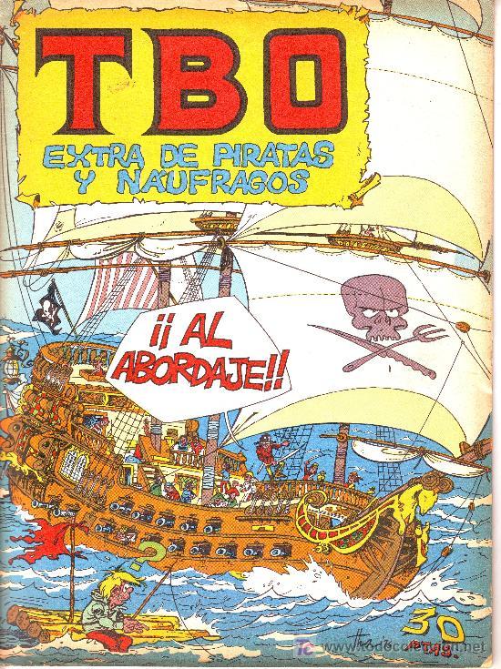 TBO EXTRA DE PIRATAS Y NÁUFRAGOS (Tebeos y Comics - Comics Extras)