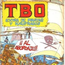 Cómics: TBO EXTRA DE PIRATAS Y NÁUFRAGOS. Lote 7009001