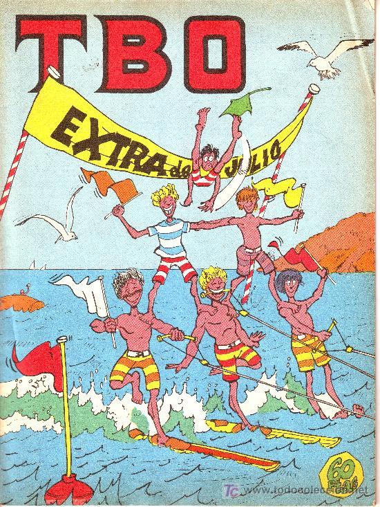 TBO EXTRA DE JULIO (Tebeos y Comics - Comics Extras)