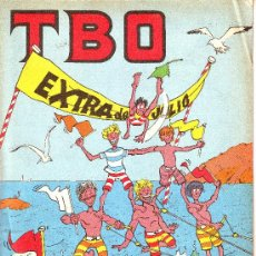 Cómics: TBO EXTRA DE JULIO. Lote 7009165